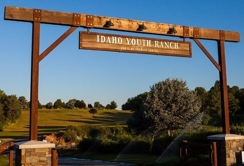 Entrance to Idaho Youth Ranch